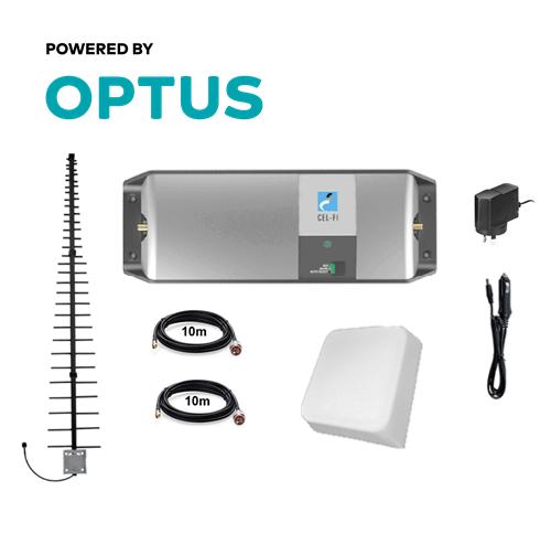 Cel-Fi GO Optus Building MARS 8dBi + LPDA