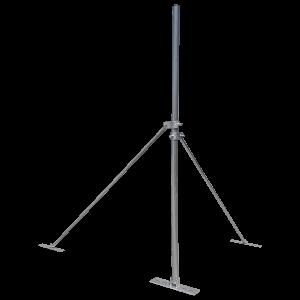 Blackhawk Collared Roof Mast 2m,, 50mm Pole Diameter 1