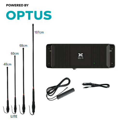 Cel-Fi GO2 Optus Trucker Packs