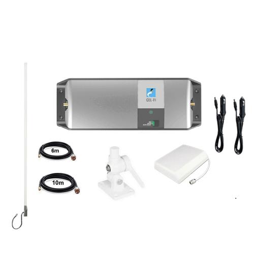 Cel-Fi GO Telstra Caravan Pack inc. Wall Mount (2 x 12v power supply)