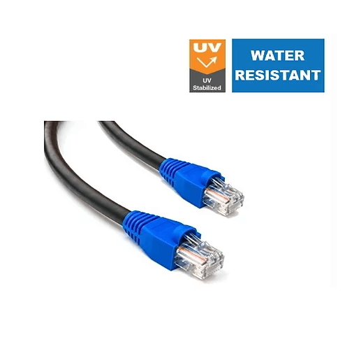 CAT5e Outdoor UV stabilized Pre-made Patch Cable