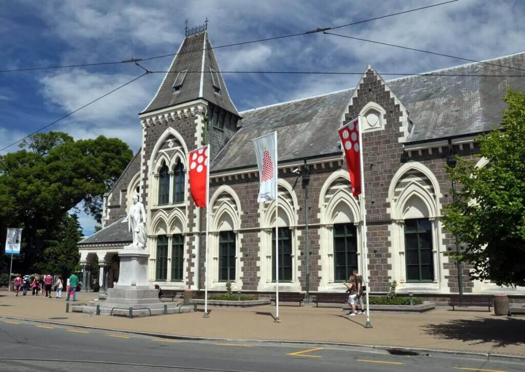 Museum, Christchurch, New Zealand