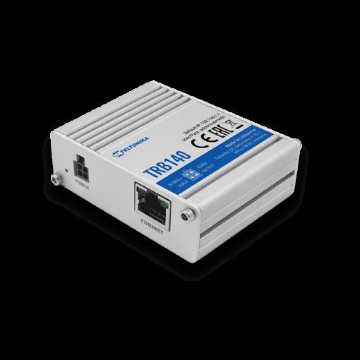 Teltonika TRB140 - CAT4, ethernet Port, Passive PoE, USB Slave, Digital I/O