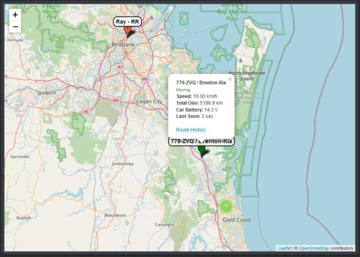 Map Tool Tip