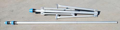 Blackhawk Light Aluminium Tripod with 5.7m Telescopic Mast