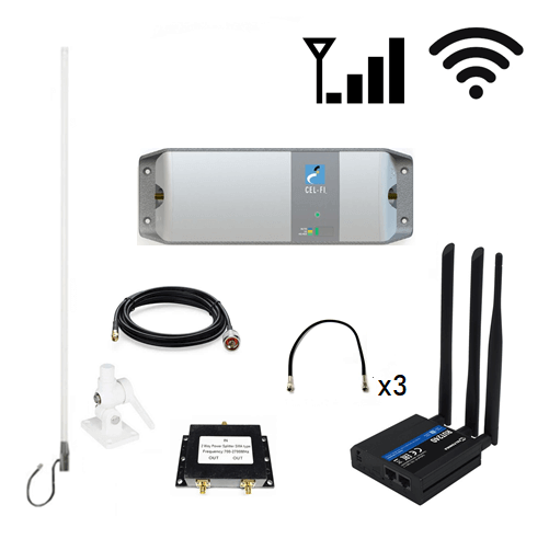 RV WiFi/ Cellular Pack - Telstra Cel-Fi GO