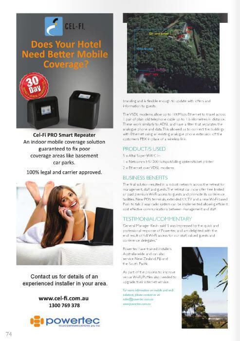 Page 2 The Hotel Engineer Magazine WiFi